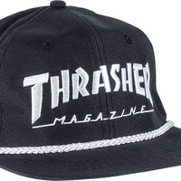 Thrasher Rope Hat Adjustible Black/White