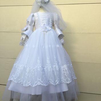 Angela-communion dress-Victorian-comuniones-first communion