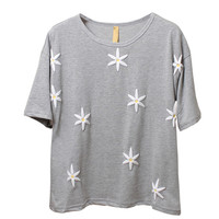3D Daisy Short-sleeved T Shirt