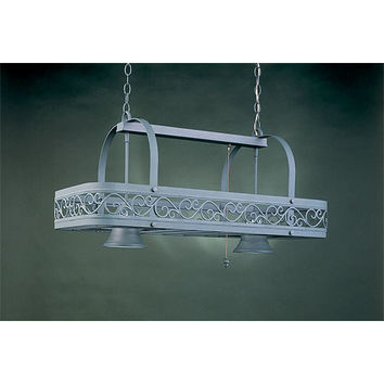 Hi-Lite H-11Y-D-GN20 Two-Light Pot Rack