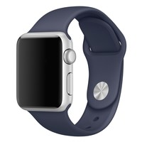 Silicone Apple Watch Band - Midnight Blue