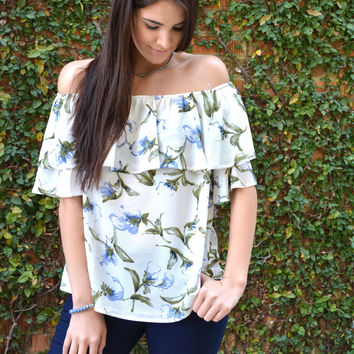 fresh & floral top