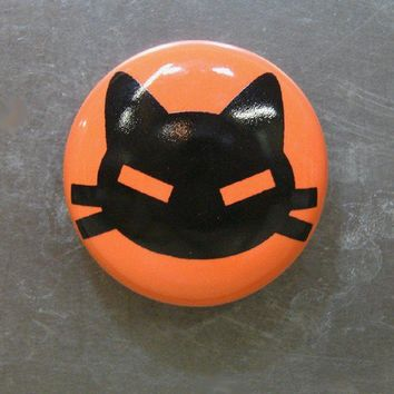 magnet kitty cabeza  (clementine)