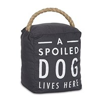 Pavilion Gift Company 72198 Spoiled Dog Door Stopper, 5 x 6""