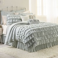 LC Lauren Conrad Ella 2-pc. Comforter Set - Twin/XL Twin (Grey)