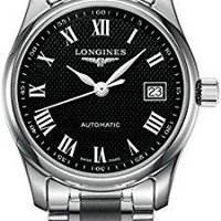Longines Master Collection Black Dial 29mm Women's Watch L2.257.4.51.6