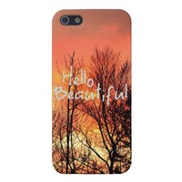 Hello Beautiful iPhone 5 case from Zazzle.com