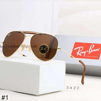 RayBan 2018 new driving travel pilot men and women models polarized color film sunglasses #1