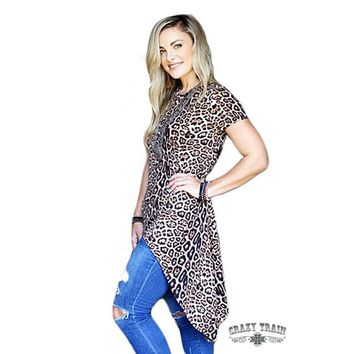 Wild Willow Leopard Tunic By Crazy Train