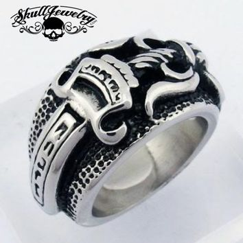 """Double-Edged Sword"" Ring (593)"