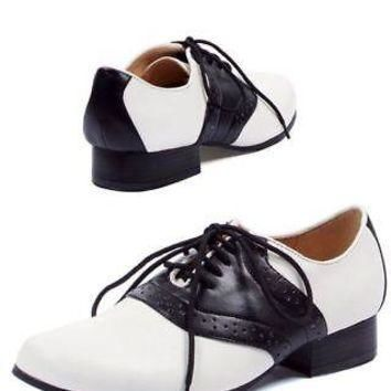 Adult Ladies' Saddle Shoes - Costume Accessory