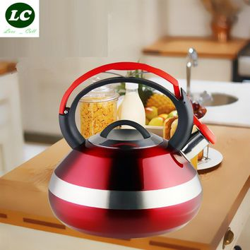 water kettle Stainless steel thickening kettle water 3Litre capacity whistling furnace multi-purpose teapot