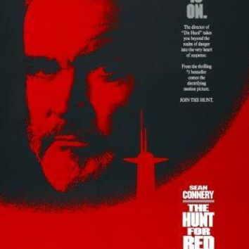 Hunt For Red October movie poster Sign 8in x 12in