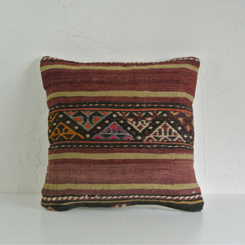 Turkish Kilim Pillow 002