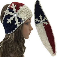 Snowflake Winter Headband