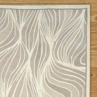 Streams Rug, Neutral - Cost Plus World Market