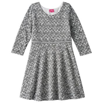 DCCKX8J Pinky Los Angeles Double Knit Skater Dress - Girls