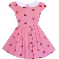 Strawberry Pocky Wendy Dress – Bonne Chance Collections