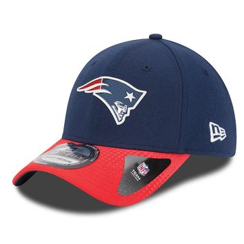 New Era New England Patriots 2015 Draft Collection 39THIRTY Stretch-Fit Cap - Adult, Size: M/L (Blue)