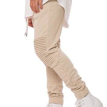 Sand Terry Moto Jogger