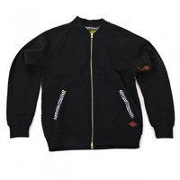 Crooks & Castles 95.00 Crooks & Castles Regalia Baseball Jacket