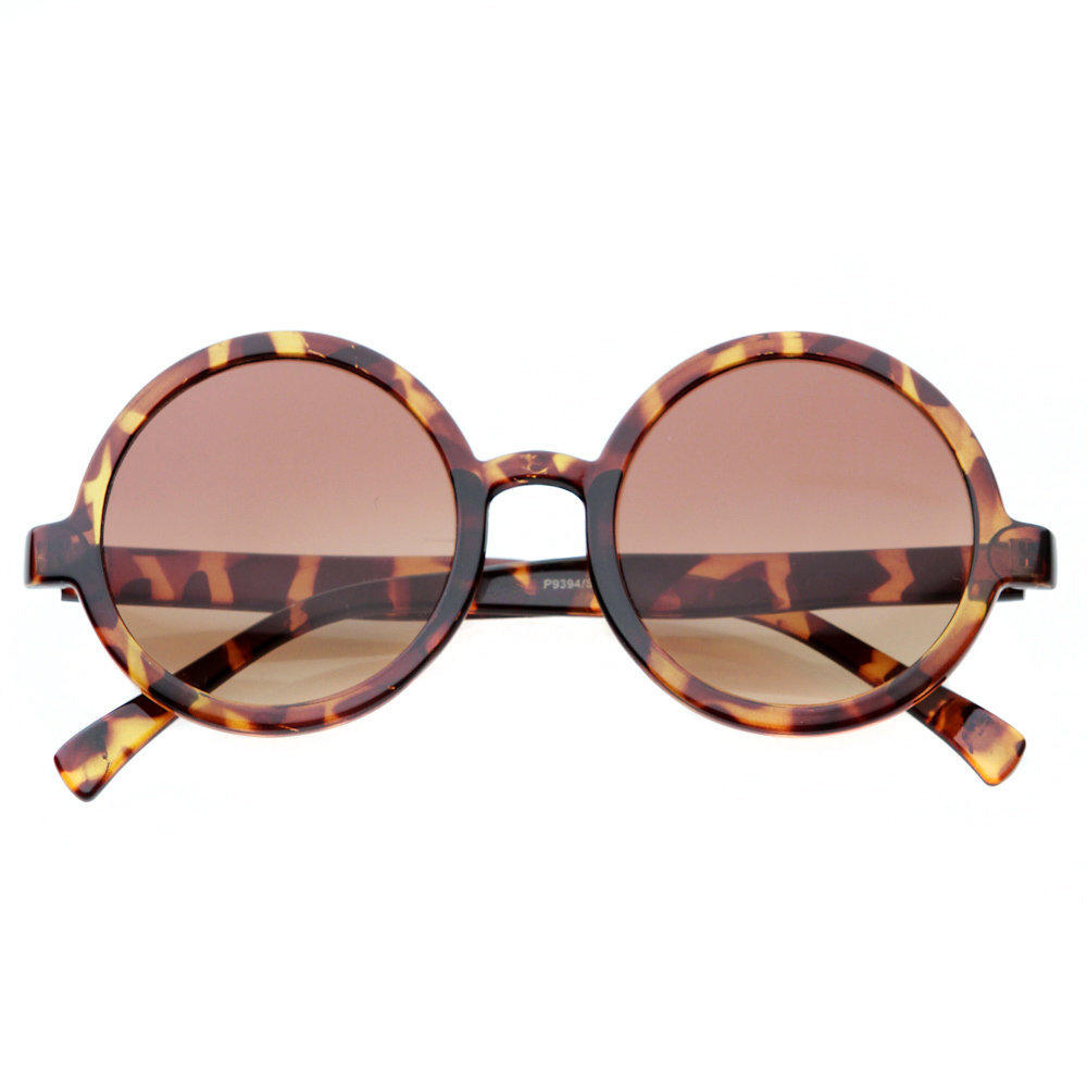 80's - audrey vintage frame oversized circle sunglasses - 80's | 80's Purple