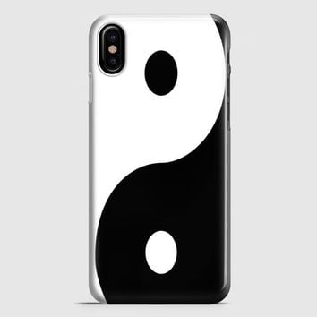 Yin Yang iPhone X Case