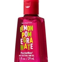 Bath and Body Works PocketBac Anti Bacterial Hand Gel Summer Fragrance Lemon Pomegranate