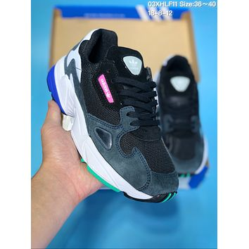 HCXX A384 Adidas Origlnals Yung-1 Yeezy 600 Sports Casual Running Shoes Grey Black Green Blue