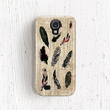 Feather Samsung galaxy s2 case Feather Samsung galaxy s3 case Indian samsung galaxy 4 case native samsung galaxy note 2 case boho c169