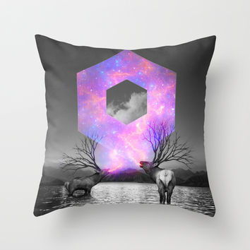 Made of Star Stuff Throw Pillow by Soaring Anchor Designs
