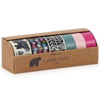 Nordic Nights set of 6 tapes - Washi Tapes - Wrap - Cards & Wrap