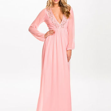 Deep Decor Maxi Dress, NLY Eve