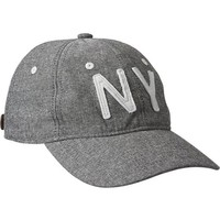 Old Navy Mens Applique Baseball Caps Size One Size - Grey chambray