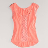 AE Eyelet T | American Eagle Outfitters