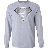 Preschool superhero  G240 Gildan LS Ultra Cotton T-Shirt