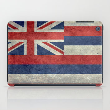 The State flag of Hawaii - Vintage version iPad Case by Bruce Stanfield