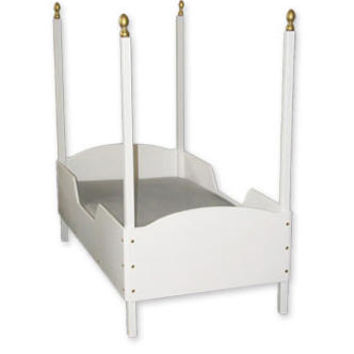 Four Post Princess Toddler Bed
