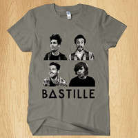 Bastille T Shirt, Music T Shirt, Rock Band T Shirt, For Men T Shirt, - All Color Available