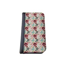 Floral flip case Samsung Galaxy S4 case, wallet Case, Flap Cover, Book Style Case, Pocket Case, Samsung Galaxy S4 Wallet, Made in USA - different designs available (Floral)