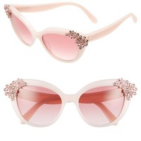 kate spade new york 'karyna' 55mm cat eye sunglasses | Nordstrom