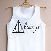 Harry Potter Always - Tank Top , Tank , Cute Tank Top , Harry Potter Always Tank Top , Harry Potter Tank Top , Always Tank Top