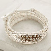 White Sands Wrap Bracelet by Anthropologie Silver All Bracelets