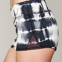 Free People Womens FP Movement Tie Dye Short - Champagne Combo, L