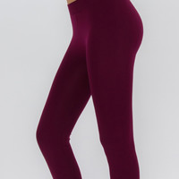 Solid Basic Leggings - Assorted Colors