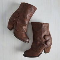 Faithful Footsteps Bootie in Chocolate