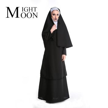 MOONIGHT The New Church Of The Mother Of The Virgin Mary Maria Costume For The Role Of Nun Halloween Costumes