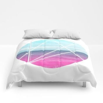 Sea Prism Comforters by Trevor May