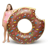 BIG MOUTH CHOCOLATE DONUT POOL FLOAT