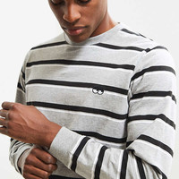 Lazy Oaf Mono Stripe Long Sleeve Tee | Urban Outfitters
